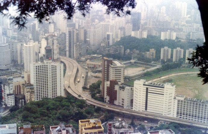 1982年的香港,那一年,英国首相撒切尔夫人到北京展开对话