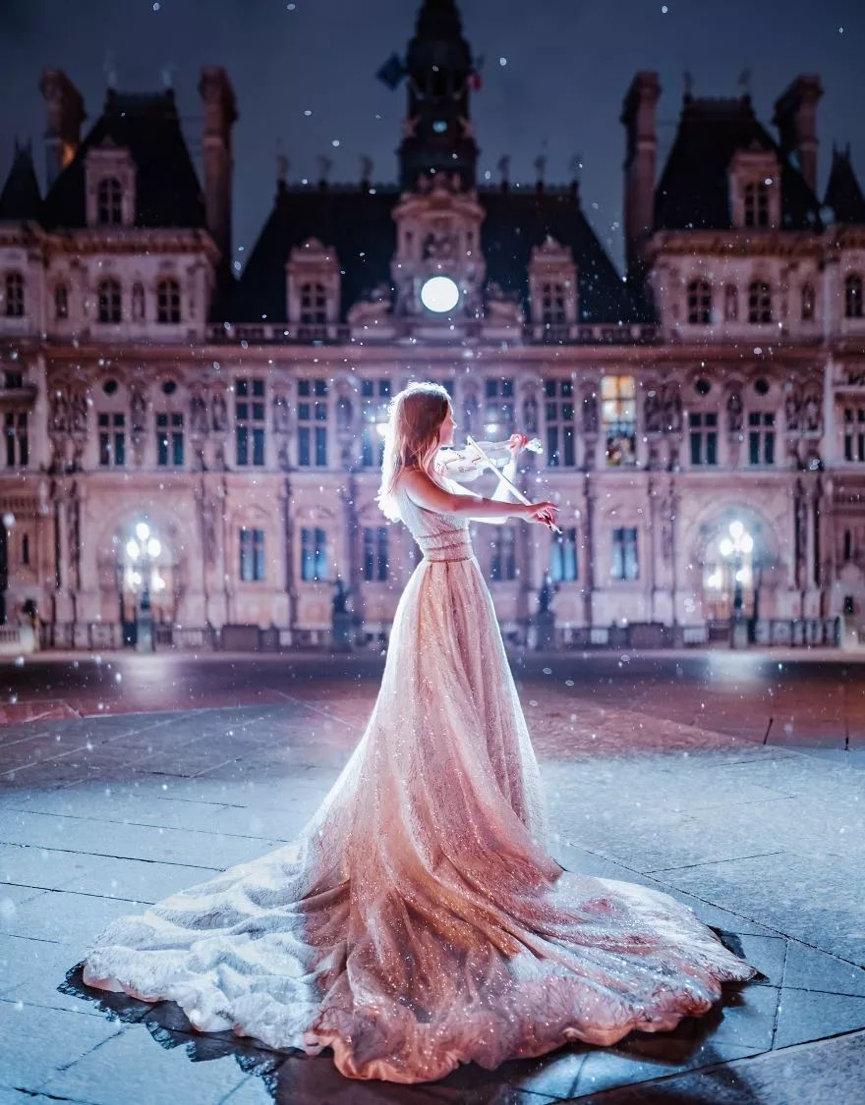 来自俄罗斯的女摄影师克里斯蒂娜·梅德瓦(Kristina Makeeva)拍摄了