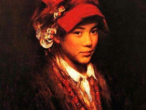 解放军艺术学院教授张利写实人物油画作品欣赏