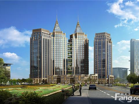 2021年4月南昌市会展路商圈写字楼市场租赁情况