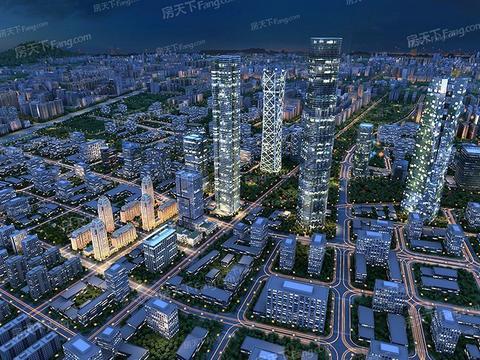 2021年4月济南市奥体中心商圈写字楼市场租赁情况