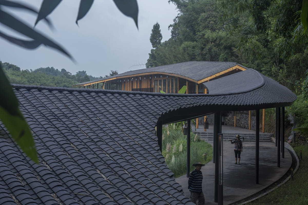 竹枝书院丨小隐建筑