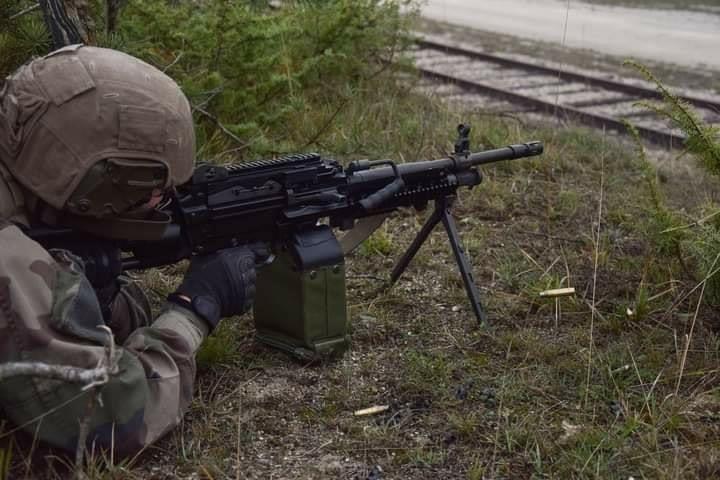训练中的法国陆军第5龙骑兵团