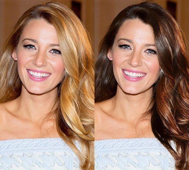 欧美女星发色对比,金发VS棕发,斯嘉丽·约翰逊毫无违和感!