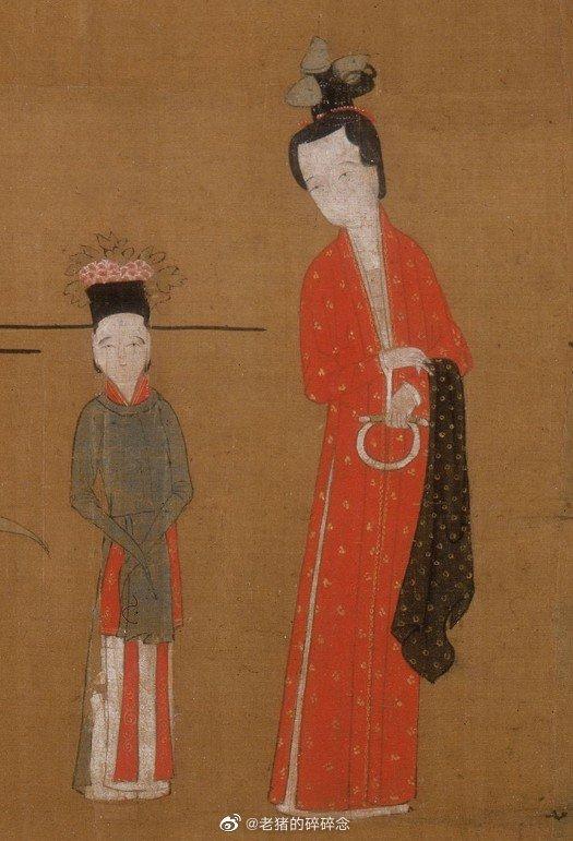 绢本,设色,25.6*157.7cm,上海博物馆藏