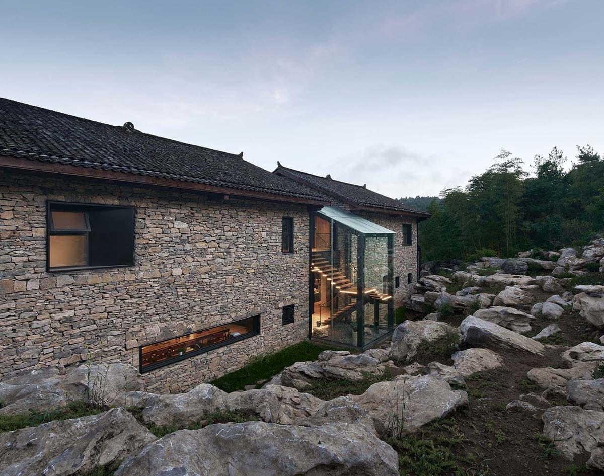 南岔湾·石屋部落民宿丨中国美术学院风景建筑设计研究总院