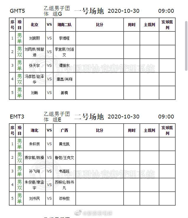 今日上午乙组第一阶段第三轮对阵,刘雨辰、冯彦哲等出战