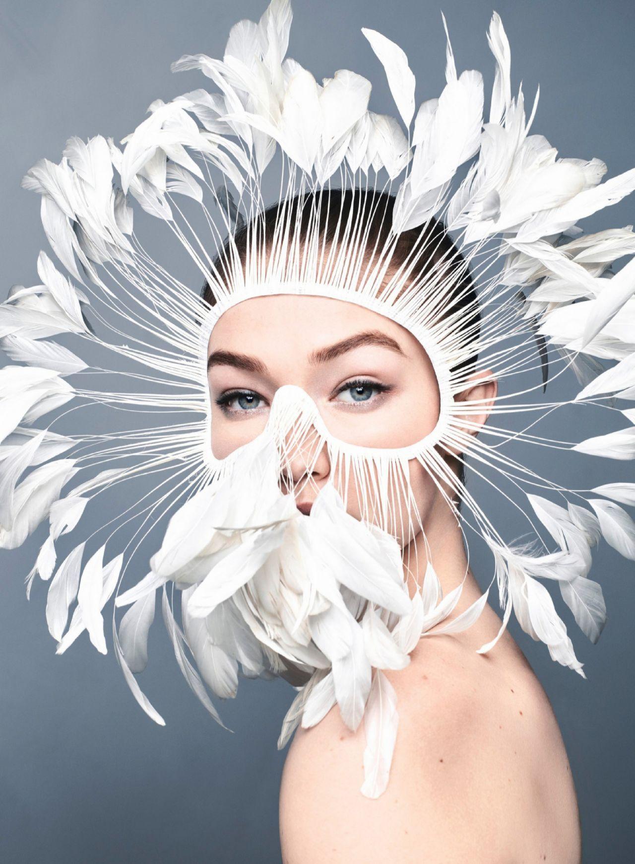 吉吉·哈迪德(Gigi Hadid)–美国《Harper's Bazaar》 2020年4月