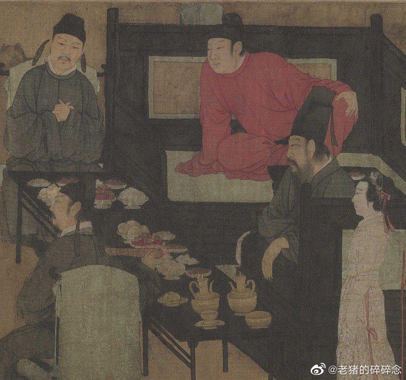 十大名画之一|韩熙载夜宴图