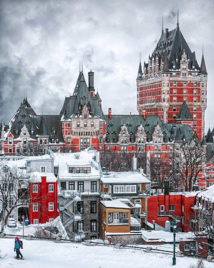 魁北克,优雅迷人的古堡~