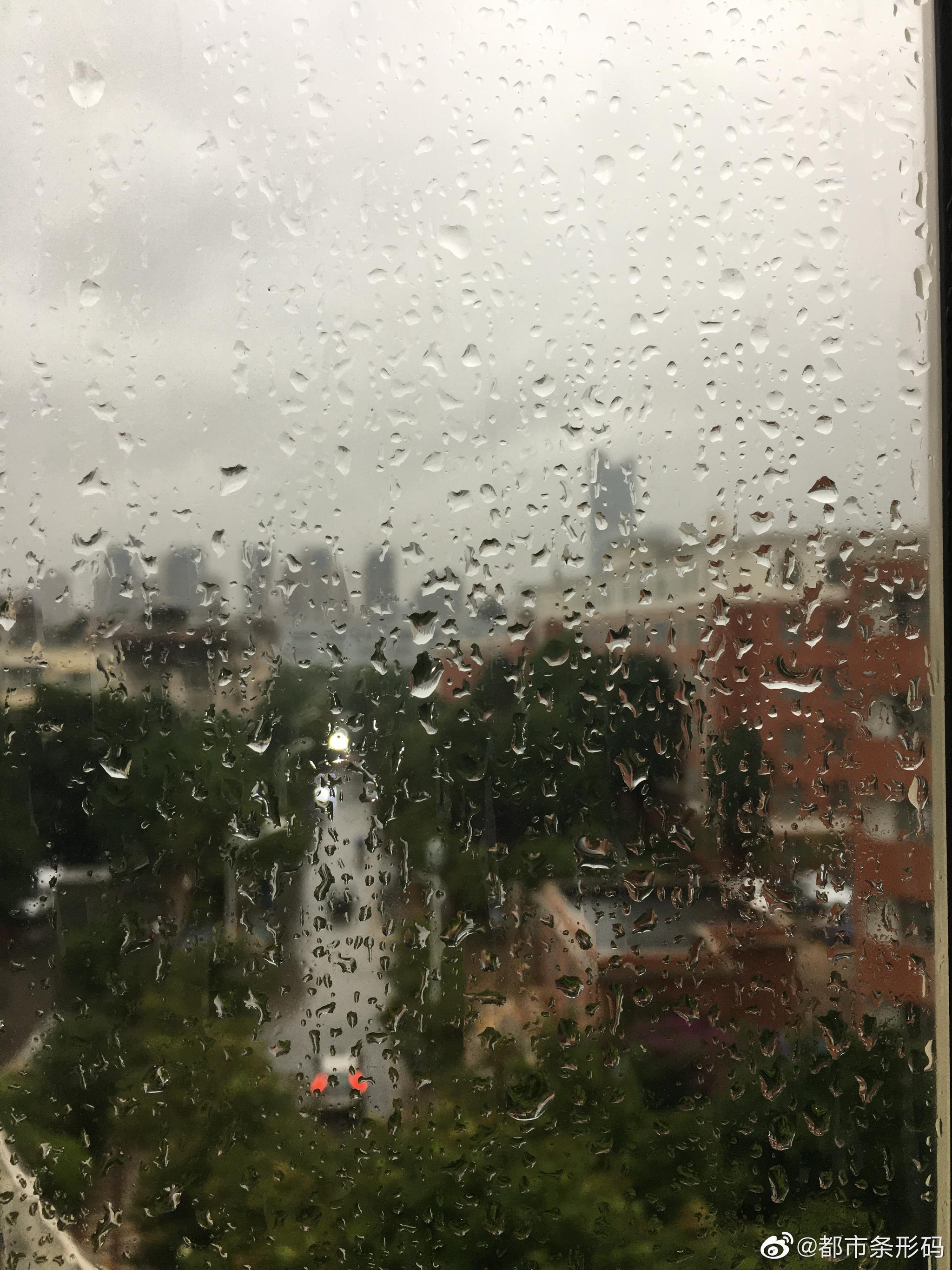 下雨☔️您上班路上遇到啥?给条码君说说吧……