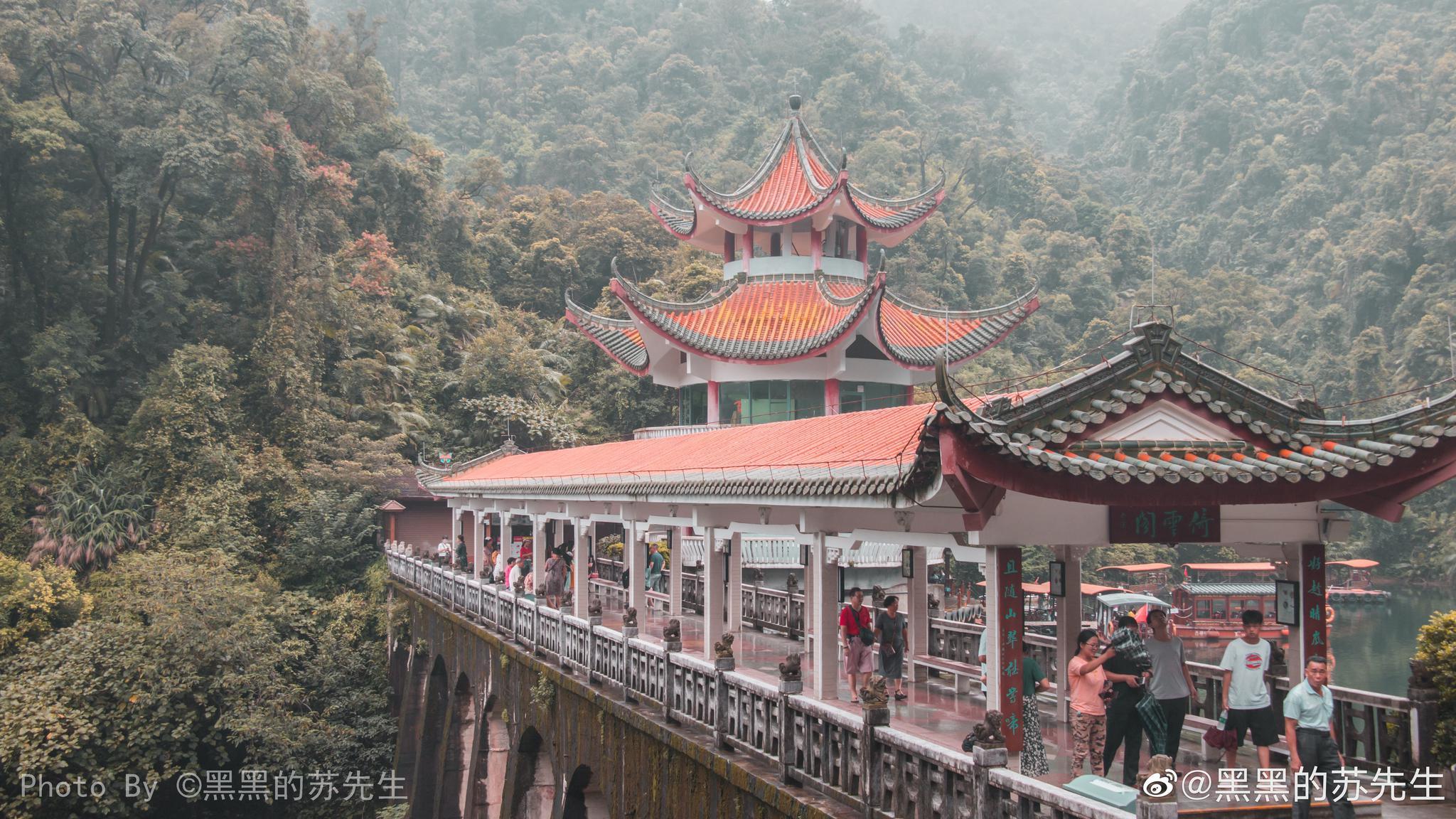 鼎湖山自唐代以来就是著名的佛教圣地和旅游胜地,在公元676年