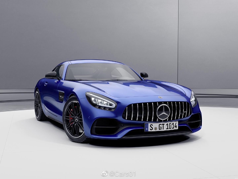 新款梅赛德斯-AMG GT官图发布,新车是年度改款车型