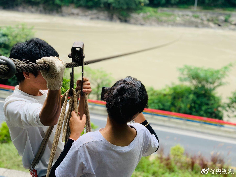 @青春有你2-王清 和小婧将继续云南省怒江州拉马底村的旅程 有什么惊
