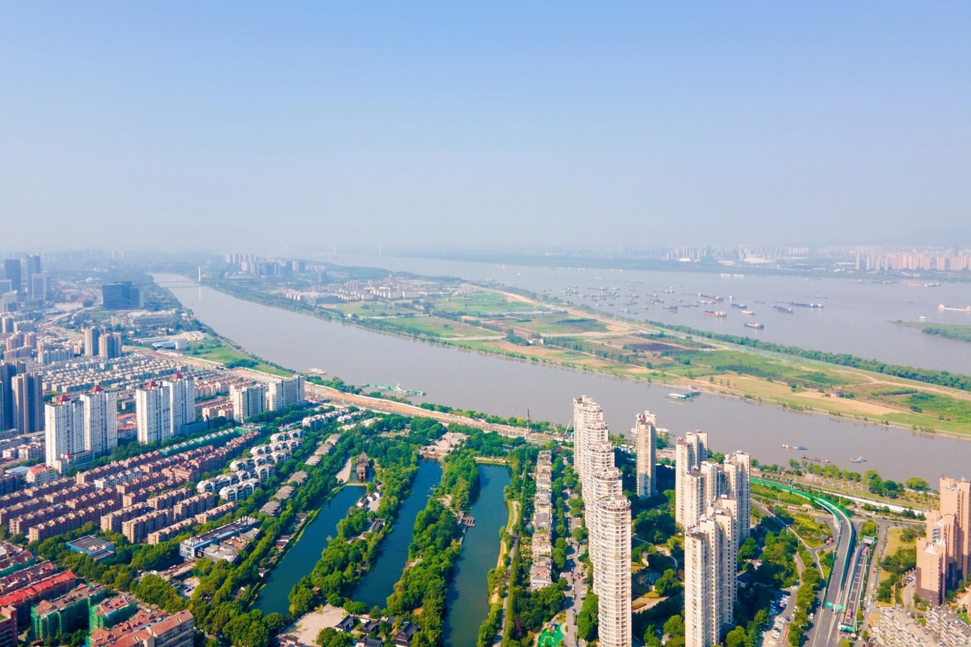 南京河西新城,华东第二大中央商务区,高楼林立景色也很美