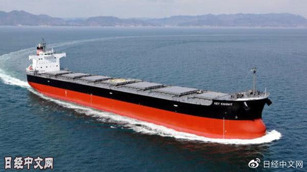 大型货船租费1个月暴涨近10倍