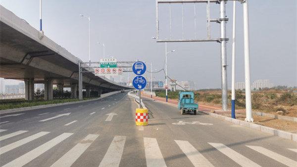 岱阳大街立交桥、迎胜高架路主干道行人和非机动车禁行