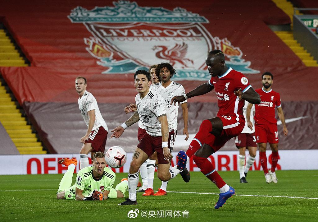 利物浦3-1阿森纳开局三连胜