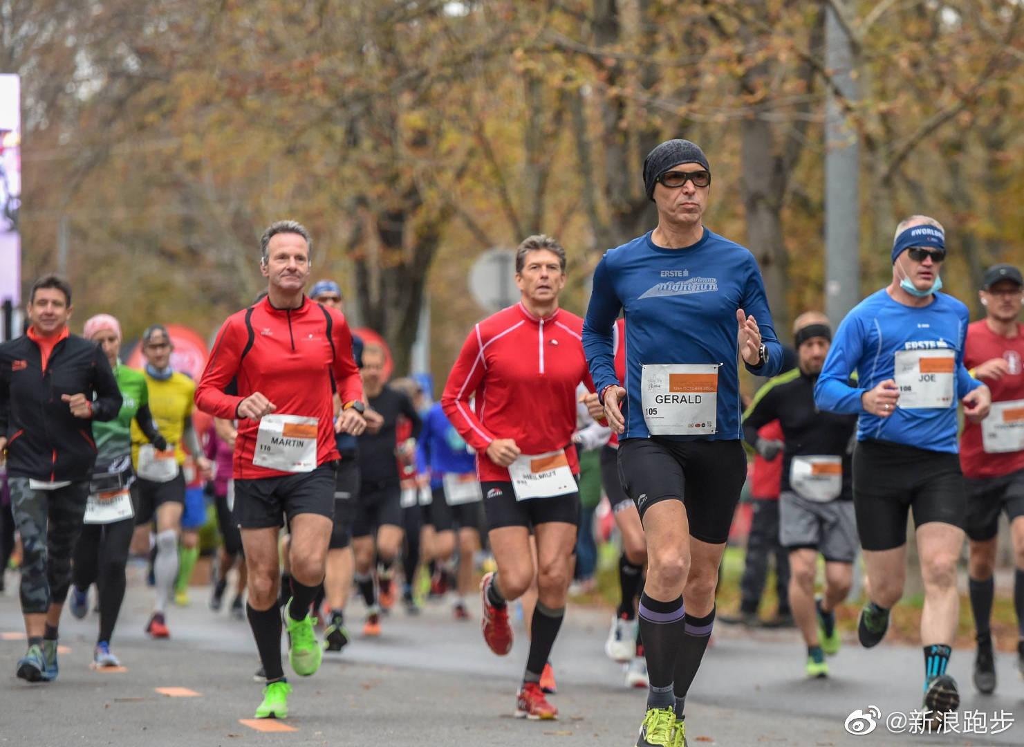 昨天是基普乔格破2一周年,维也纳在当时的场地举办了一场跑步活动