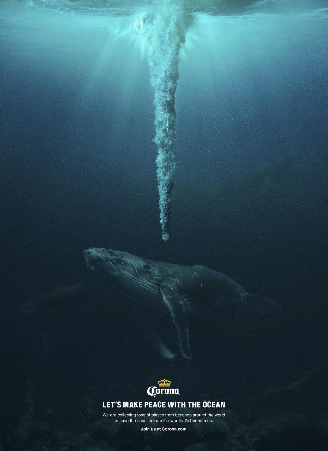 """一则保护海洋环保公益广告:海底战争,塑料就是""""大杀器"""""""