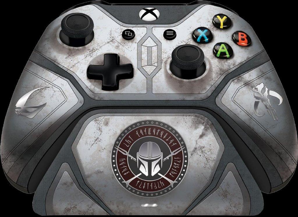 Xbox One《星球大战:曼达洛人》主题限定手柄充电套装,售价159