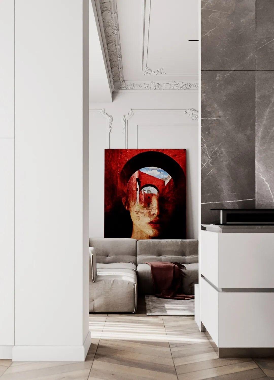摩尔多瓦|贝尔纳达齐公寓 国内外知名设计师设计作品140套(更新202