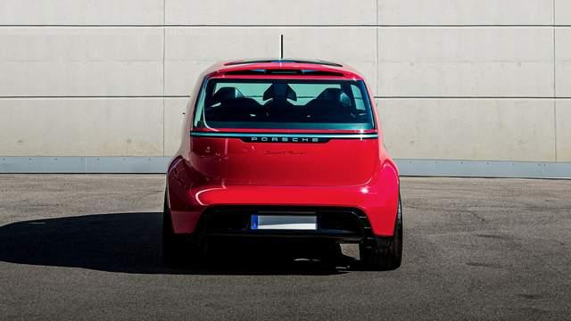 保时捷Vision Renndienst概念车,可乘坐6人?