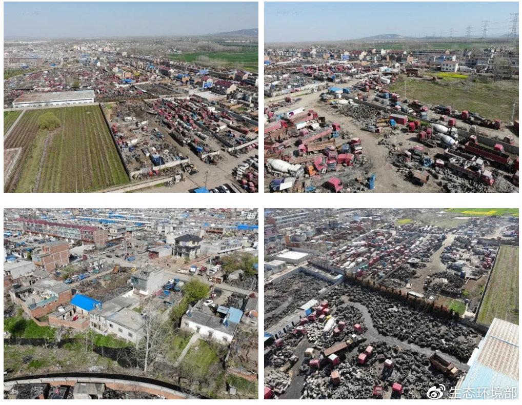 安徽省滁州市凤阳县机动车拆解行业监管缺失 环境污染严重