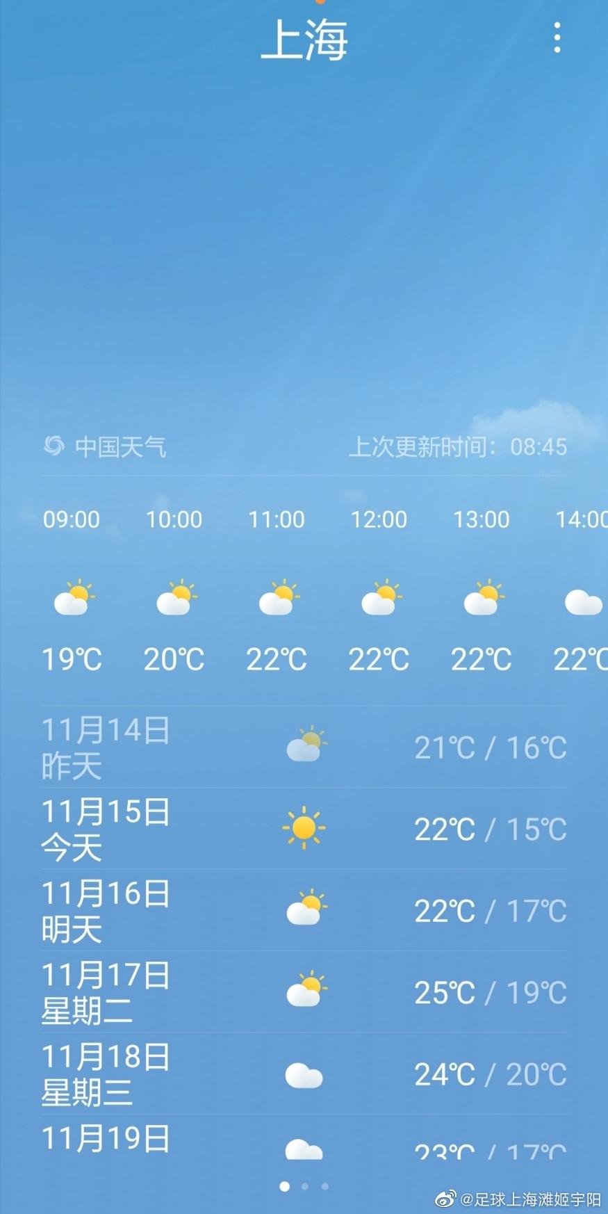有没有觉得今年上海的秋天格外的长
