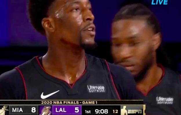 NBA总决赛第1场打响,结果在湖人对阵热火队的比赛当中,开场就爆出大冷门