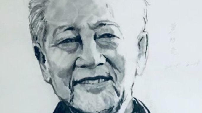 中国百位科学巨匠水墨肖像——黄旭华