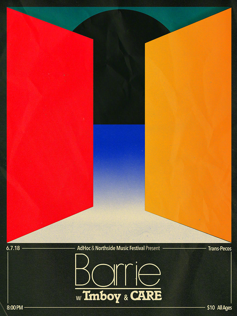 14款几何形状海报设计——Aaron Lowell Denton