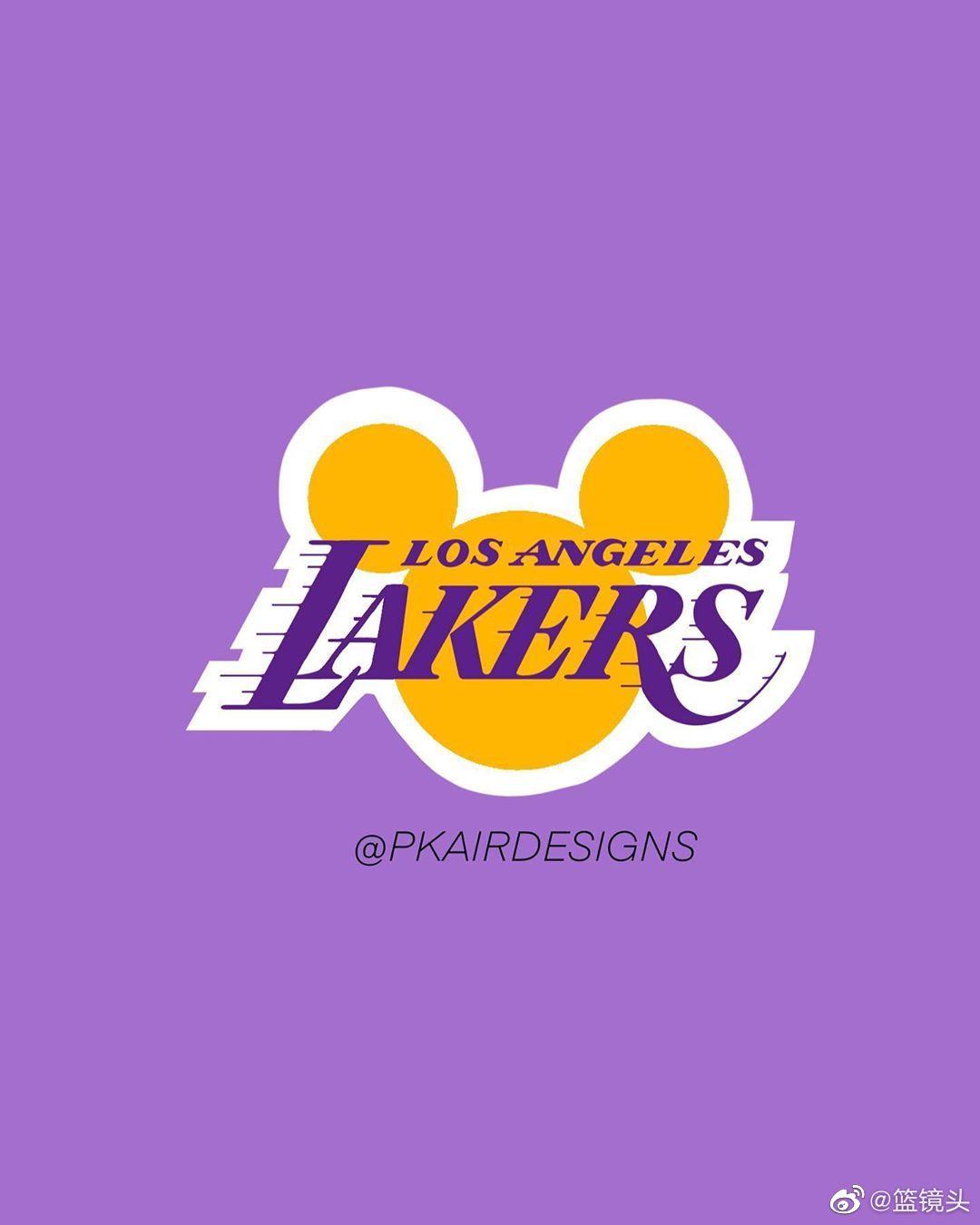 无缝对接的感觉!当NBA队标融合迪士尼文化,这创意棒棒的