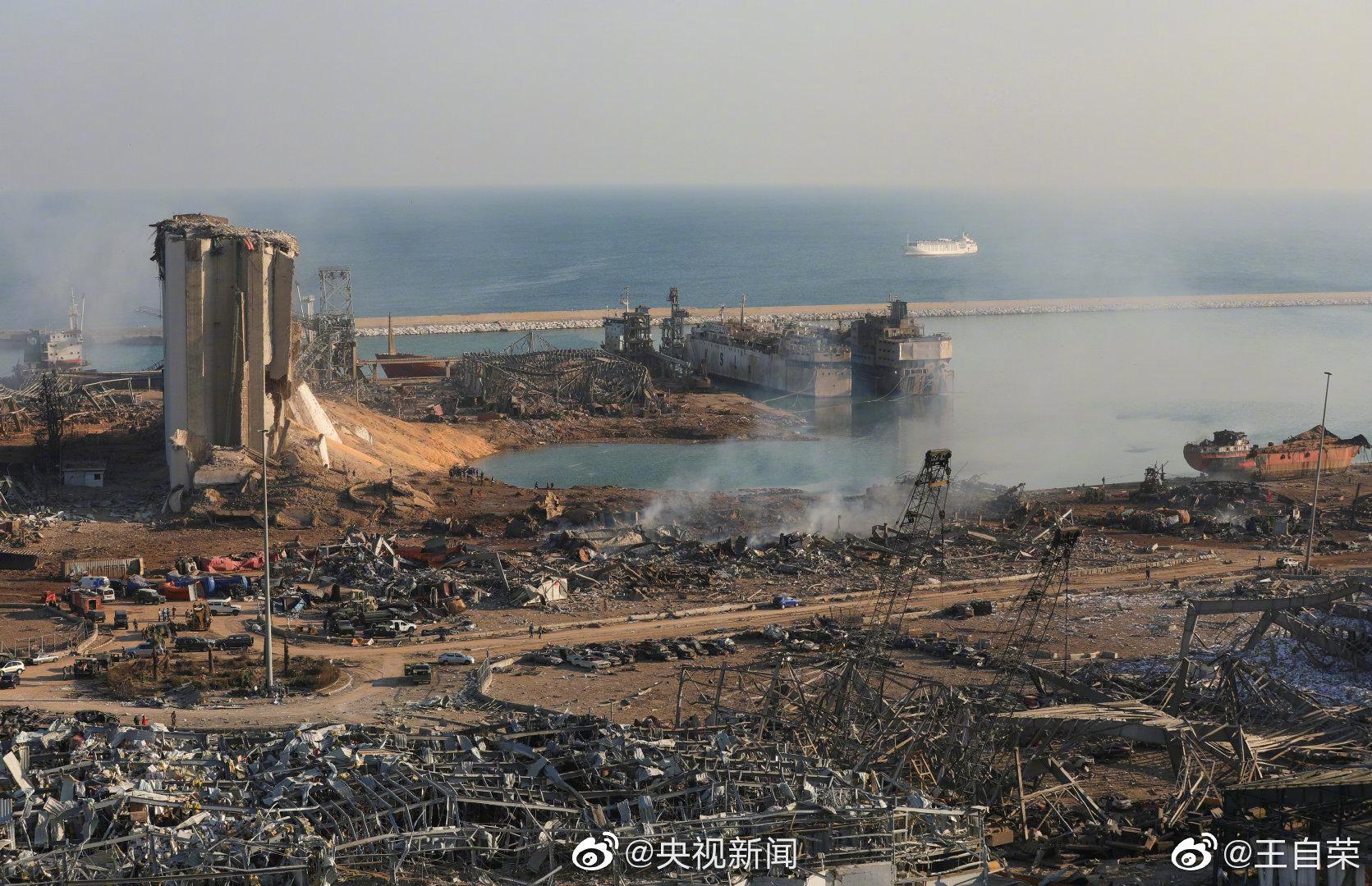 据@央视新闻 黎巴嫩卫生部长表示,贝鲁特港口爆炸已导致113人丧生
