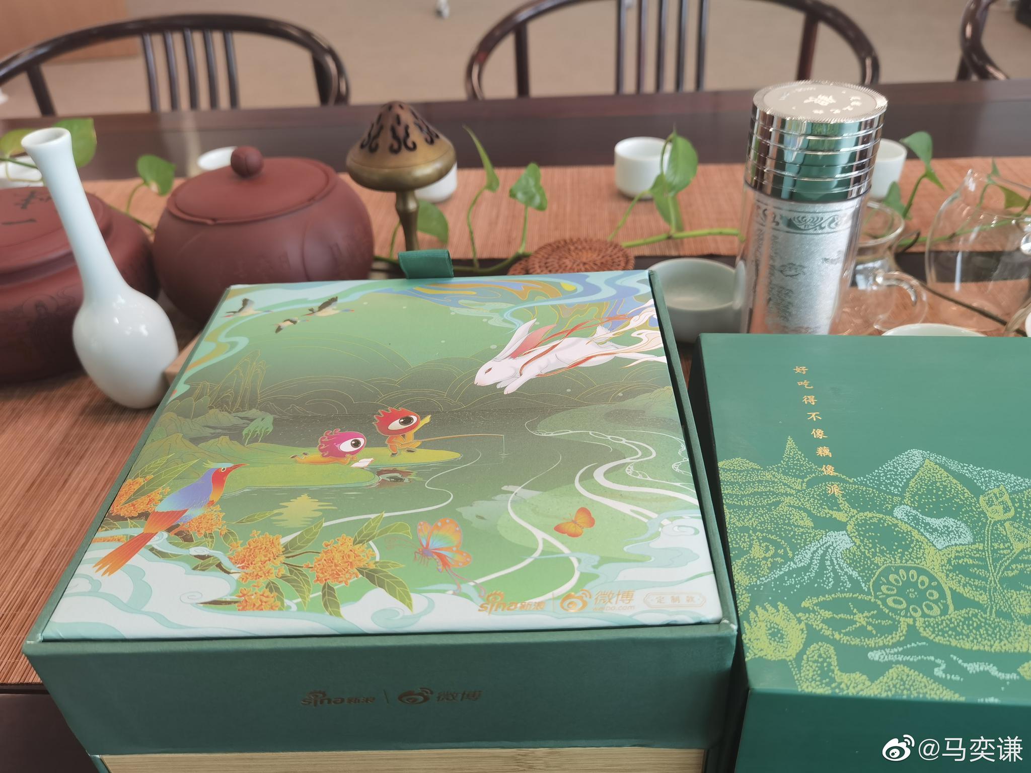 谢谢@新浪财经 @李子柒 的藕粉,好精致啊🙏🙏🙏节日快乐