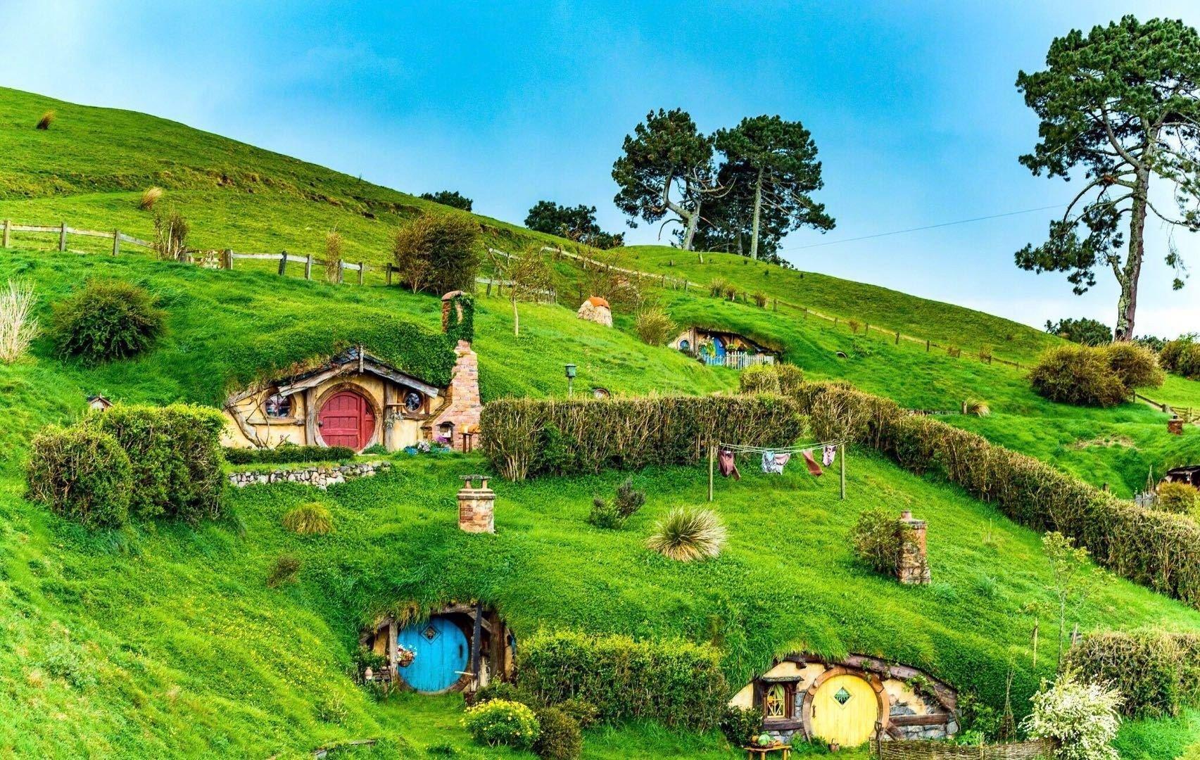 霍比特人村,那让人心驰神往的世外桃源。