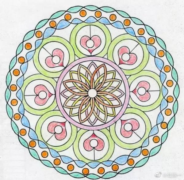 """荣格在《金花的秘密》中写到:""""当无意识专注于生命时"""
