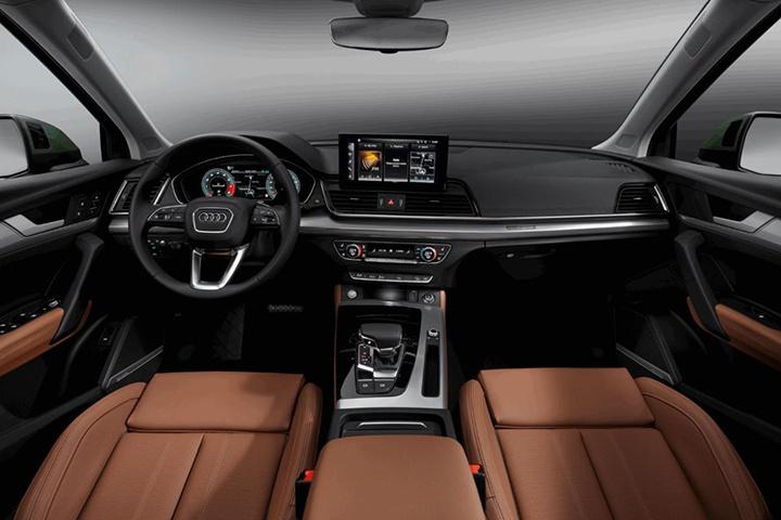 新款奥迪Q5正式发布,造型运动尺寸加长,全系配轻混系统!