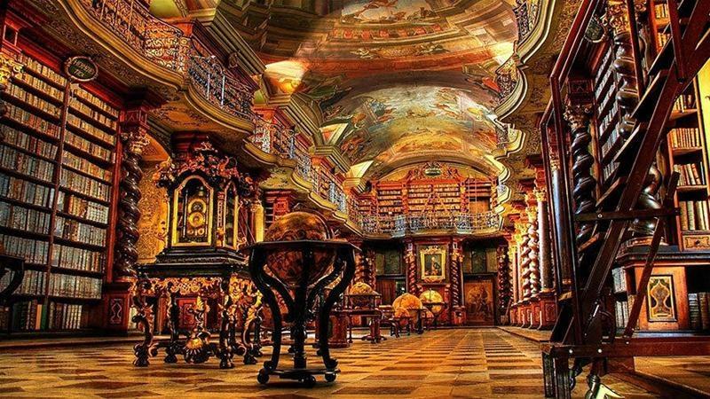 都柏林圣三一学院图书馆与英国的大英图书馆、牛津大学图书馆齐名