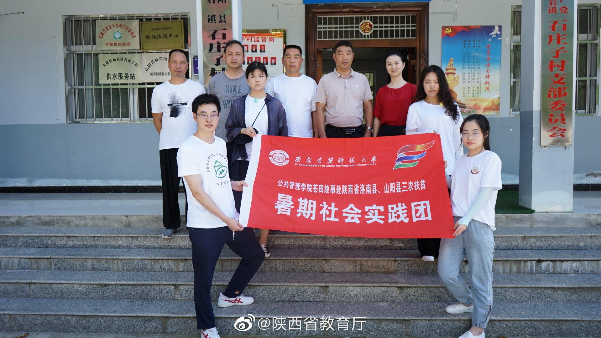 西安建大赴商洛市洛南县、山阳县开展三农扶贫活动