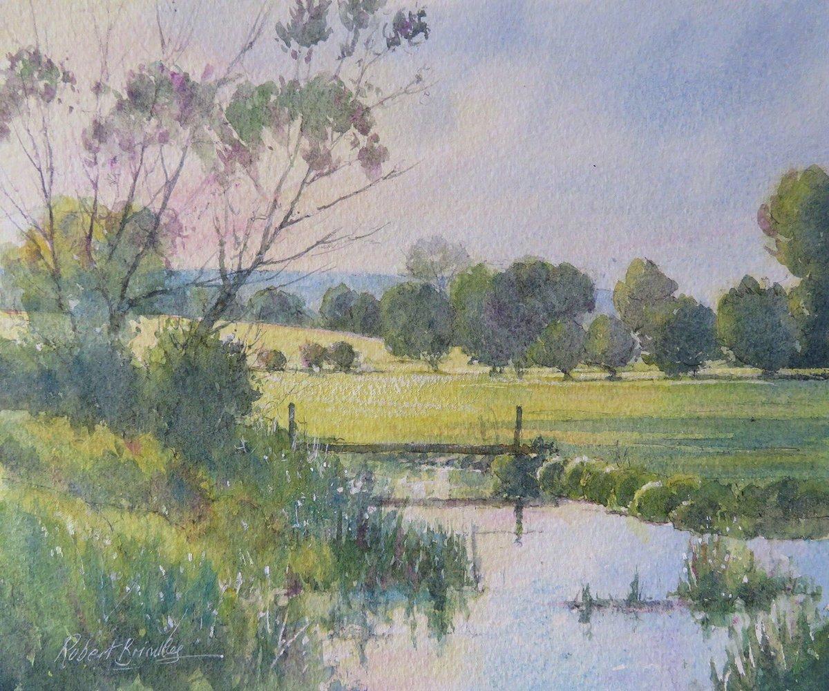 来自画家 Robert Brindley 风光绘画作品