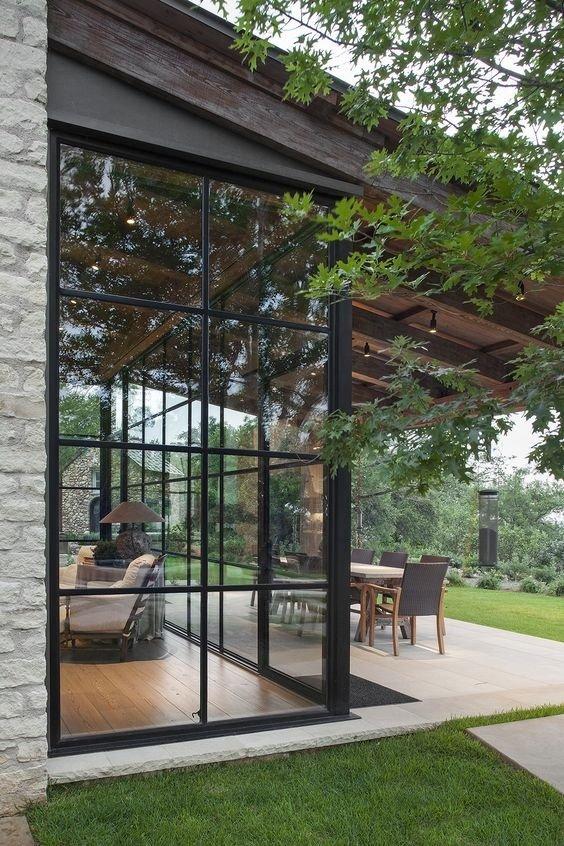 建筑空间丨落地窗