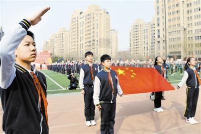 天津中小学校同步启动主题系列活动 百万青少年同声歌颂党