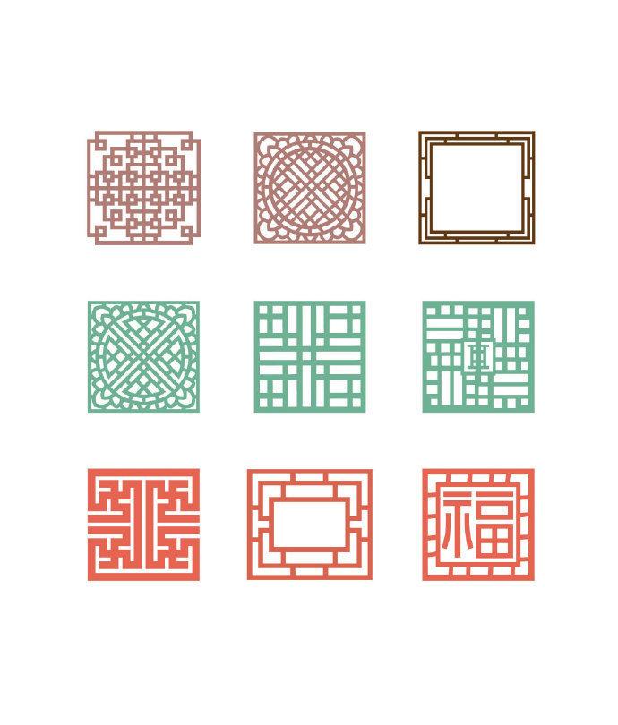 中式风格纹样设计大全、收藏了!!