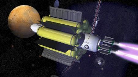 等离子体火箭,充电就能轻松去火星