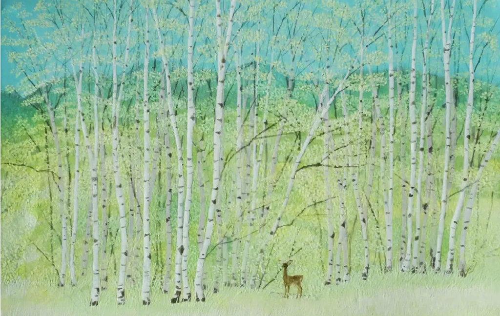 日本女插画师猪熊佳子绘画作品欣赏!