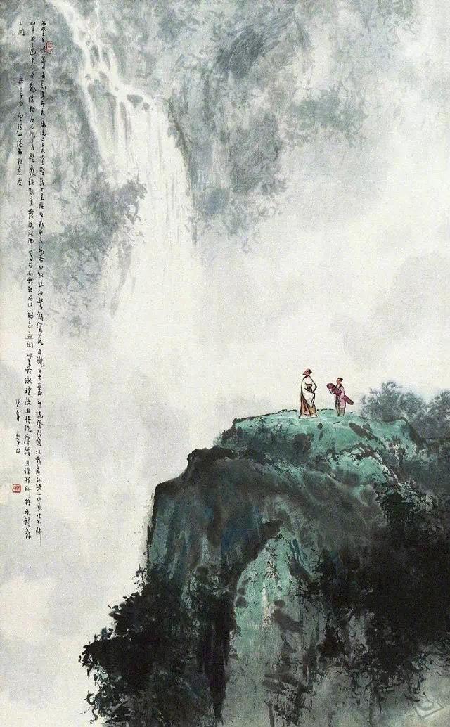 只要不放弃山水画,中国人的胸襟永远是阔大的———傅抱石