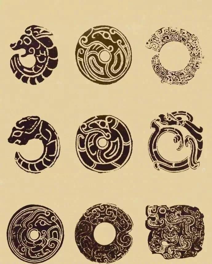 中式传统元素 · 古玉吉祥纹