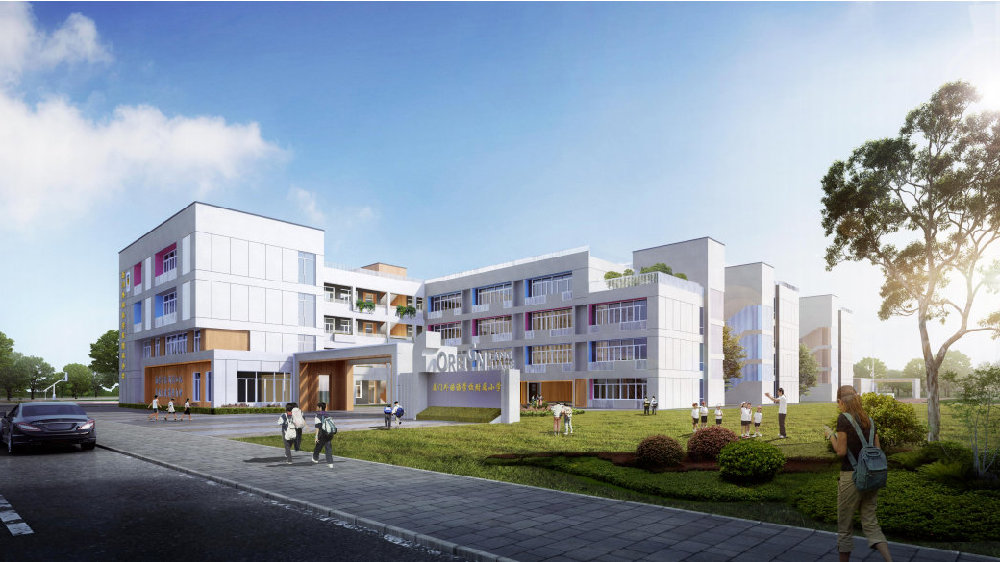 外国语附属小学、滨东小学两所过渡学校选址定了!