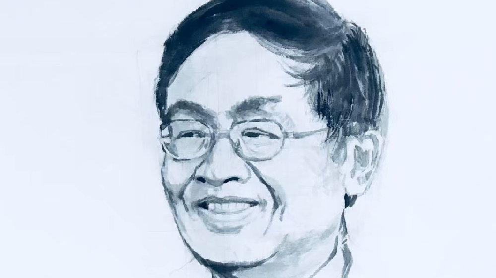 中国百位科学巨匠水墨肖像——叶培建